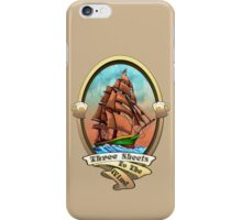 Three Sheets To The Wind (Sailing Ships and Beer) iPhone Case/Skin