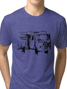 vw bus Tri-blend T-Shirt