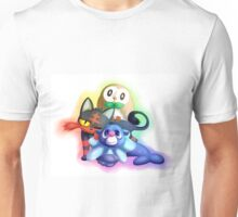 Pokemon Generation 7 Starters Unisex T-Shirt