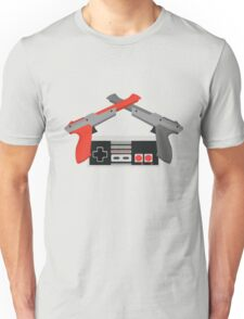 Crossed NES Zappers and Controller Unisex T-Shirt