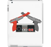 Crossed NES Zappers and Controller iPad Case/Skin