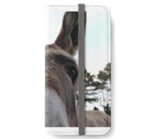 Donkey Saying Hi iPhone Wallet/Case/Skin