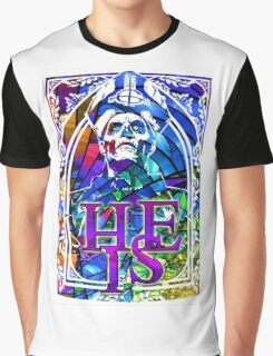 STAINED GLASS - he is Graphic T-Shirt