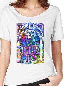 STAINED GLASS - he is Women's Relaxed Fit T-Shirt