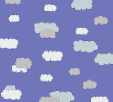 Cloud Baby Blue by LINA Design