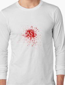 A Girl Has No Name (blood splatter) Long Sleeve T-Shirt