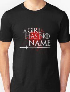 A Girl Has No Name (blood splatter) Unisex T-Shirt