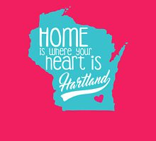 Home is Hartland Womens Fitted T-Shirt