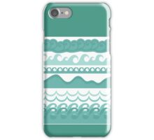 Graphic Waves iPhone Case/Skin