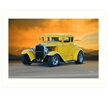 1930 Ford Model A Coupe Art Print