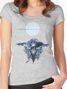 the moon & antarctica Women's Fitted Scoop T-Shirt