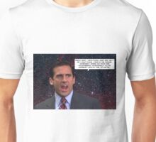 He scream w/ quote Unisex T-Shirt