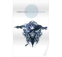 the moon & antarctica Poster