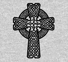 Celtic Cross in black Hoodie