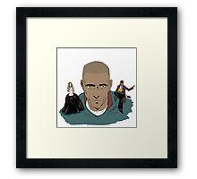 The will SAGA comic book  Framed Print