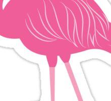 Hot Pink Flamingo Sticker