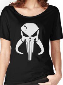 Mandalorian Punisher Women's Relaxed Fit T-Shirt