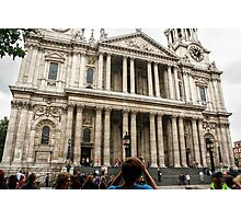 """""""To the Steps of St Paul's..."""" Photographic Print"""