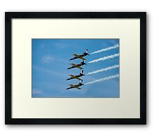 Breitling jet team Framed Print