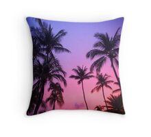 Purple Twilight Throw Pillow