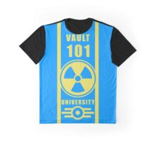 Fallout Vault 101 Jersey design  Graphic T-Shirt