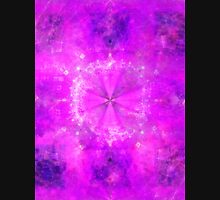 Prince Sacred Geometry Pattern Overlay | Fractal Art Unisex T-Shirt