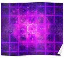 Prince Sacred Geometry Pattern Overlay | Fractal Art Poster