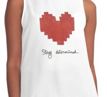 Stay Determined Contrast Tank