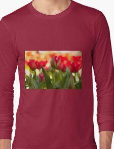 Garden of Tulips Long Sleeve T-Shirt