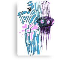 The Probot Blows Canvas Print