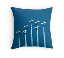 Breitling jet team Throw Pillow