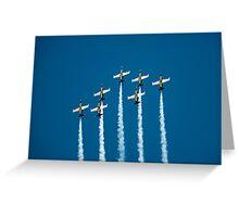 Breitling jet team Greeting Card