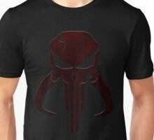 Mandalorian Punisher Blood Unisex T-Shirt