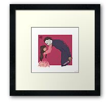 Myers and Jamie Framed Print