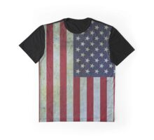 Usa flag - vintage Graphic T-Shirt