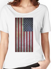 Usa flag - vintage Women's Relaxed Fit T-Shirt