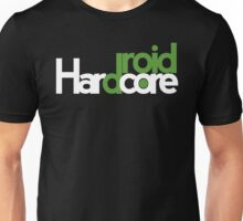 Hardcore Droid Logo -  Black Unisex T-Shirt