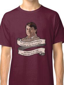 "Peep Show ""Mark Corrigan"" Classic T-Shirt"