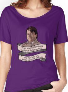 "Peep Show ""Mark Corrigan"" Women's Relaxed Fit T-Shirt"