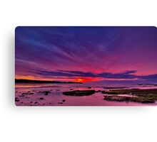 """Torquay Morning Twilight"" Canvas Print"