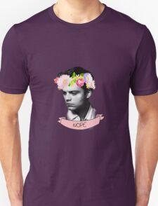 Sebastian Stan the flower child Unisex T-Shirt