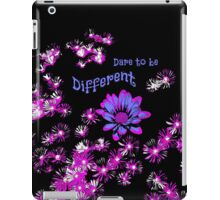 Dare to Be Different 3 iPad Case/Skin