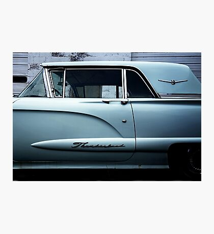 1958 Ford Thunderbird Detail Photographic Print