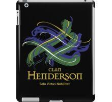 Clan Henderson - Prefer your gift on Black/White tell us at info@tangledtartan.com  iPad Case/Skin