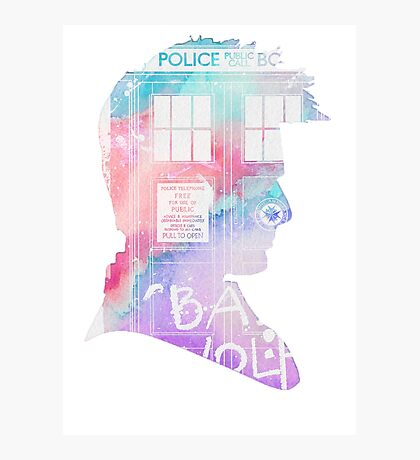 doctor who-David Tennant Photographic Print