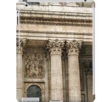 Corinthian Columns and a Relief Sculpture iPad Case/Skin