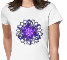Energetic Geometry - Magick Weaver Bloom Mandala Womens Fitted T-Shirt