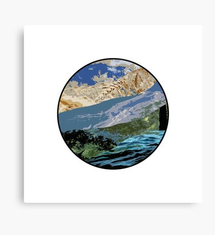 The Beautiful Earth Canvas Print