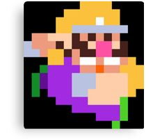 PixelStiff Wario Canvas Print