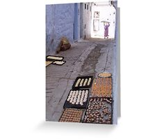 A Moroccan Bakery Greeting Card